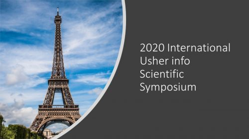 2020 International Usher Info Symposium
